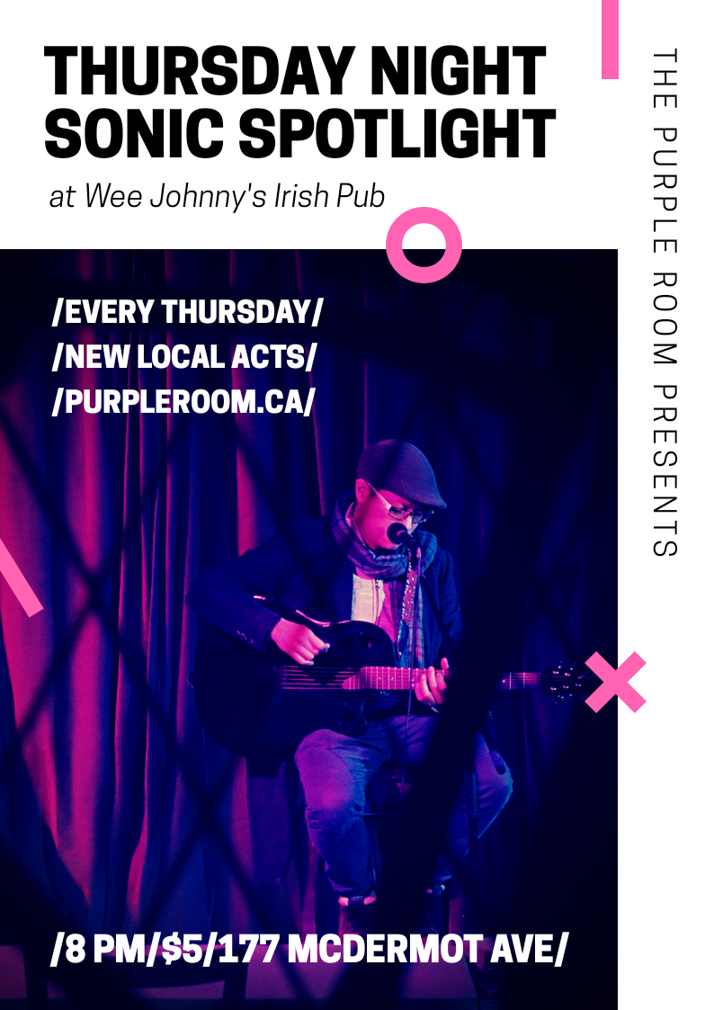 Sonic Spotlight - Every Thursday at Wee Johnny's