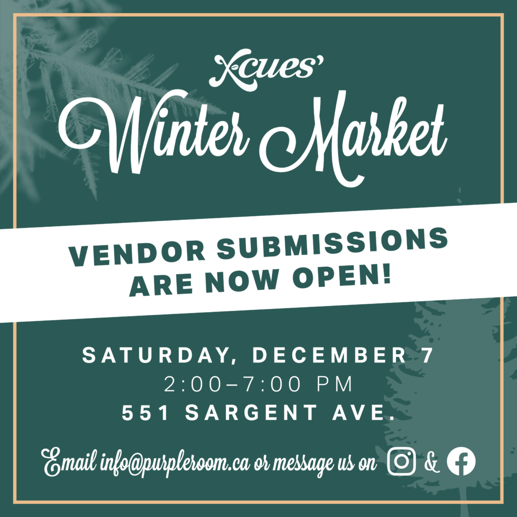 X-Cues' Winter Market Submissions